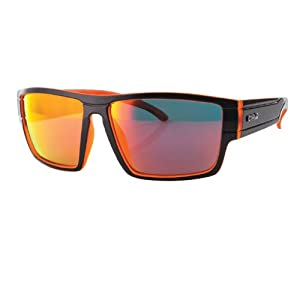 Carve Sublime Sunglasses Unisex Black/Orange Polarized Iridium