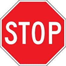 """Sign: 30""""x30"""" Stop Signs - .080"""" Alum. with EG Reflective"""