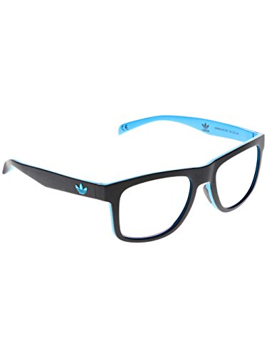 adidas Originals 27 Black / Blue 0.009 Rectangle Sunglasses Lens Category 0 - Sunglasses Category 0