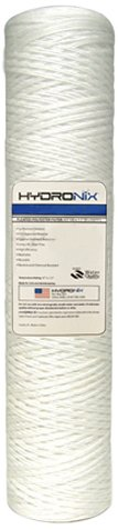 Hydronix SWC-45-2001 String Wound Filter 4.5 OD X 20 Length 1 Micron HYDRONIX-SWC-45-2001