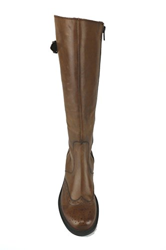 DONNA PIU' AJ521 stivali donna pelle marrone