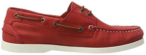 Marc Shoes Arizona, Zapatos de Cordones Derby para Hombre rojo (rojo)