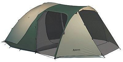 Chinook Tradewinds Guide 6-Person Fiberglass Pole Tent, Outdoor Stuffs