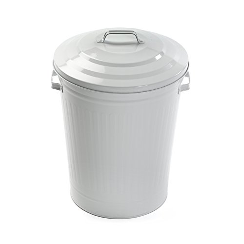 Versa 20410240 - White 23L Trash by Versa
