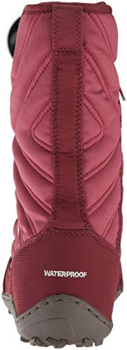 Marsala Boot Mid III Minx Slip Red Calf Columbia Fawn Women's YI0wq