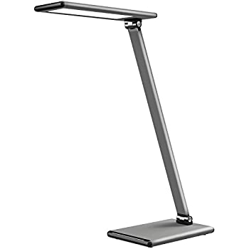 MoKo LED Desk Lamp, 8W Eye Care Smart Touch Control Table Lamps With Rugged