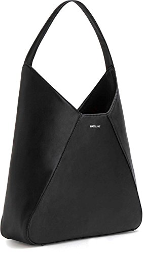 Matt and Nat Kishu Loom Hobo Handbag, Black