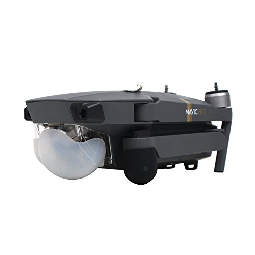 Owoda 1pc Gimbal Guard Protective Hood Camera Lens Silicone Cover for DJI MAVIC PRO - Silicone Hood
