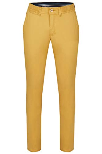 Homme Comfort Gelb Uni Pantalon 86 Club Of Slim wXgfSq