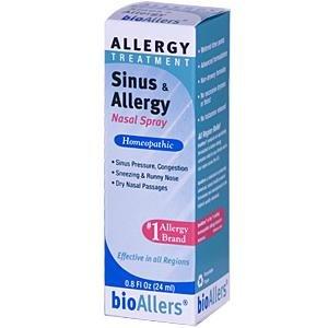 Sinus & Allergy Nasal Spray #708 BioAllers 0.8 oz. Spray