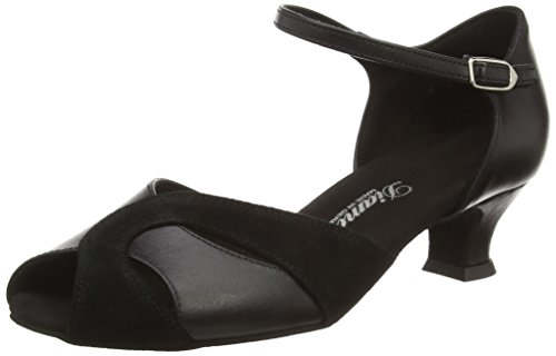 Diamond da Salon Scarpe 070 per ballo donna Tanzschuhe 011 Black 011 Damen rpTqSr