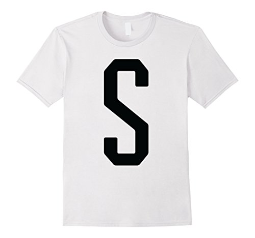 Salt Pepper Shaker Costumes (Mens Couple Halloween Costume Shirt - Salt & Pepper #1 of 2 XL White)