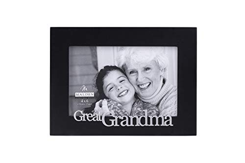 Malden International Designs Great Grandma Expressions Picture Frame, 4x6, Black (4326-46) ()