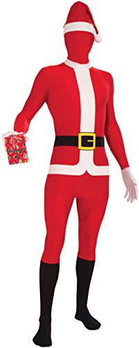 Forum Novelties Disappearing Man Santa Claus Body Suit Costume, Red/White, (Funny Male Halloween Costumes Uk)
