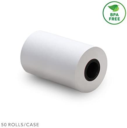 """2-1//4/"""" x 70/' 20 THERMAL RECEIPT PAPER ROLLS  ~FREE SHIPPING~ INGENICO iCT250"""