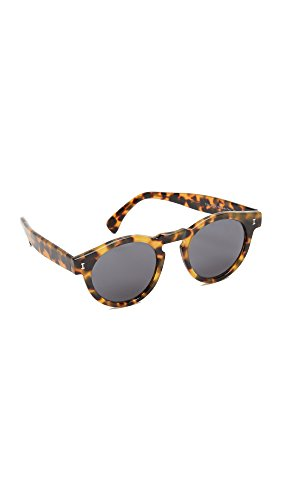 Illesteva Women's Leonard Sunglasses, Tortoise/Grey, One - Shopbop Sunglasses