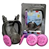 3M 67097 Mold Remediation Full Facepiece Respirator Kit - Small Size
