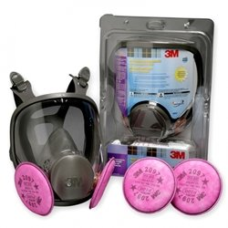 3M 67097 Mold Remediation Full Facepiece Respirator Kit - Small Size by 3M