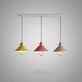 KMYX Moderne Kleine Schirmdecke Kronleuchter Metall Farbe Farbe  Korrosionsbeständigkeit Deckenleuchte Pendelleuchte Für Restaurant Bar Cafe  Wohnzimmer