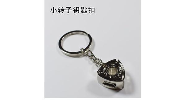 XiaoGao_ Auto Piezas Clave de la Cadena,Llaveros pequeños de ...