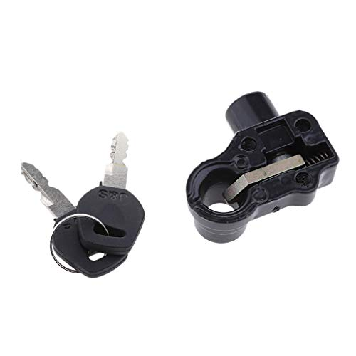 Seat Lock /& Keys for Honda XL175 CB125S CJ360T CT70 GL1100 CB400