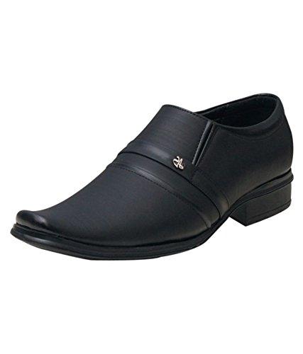 56c885ac1398 Shoe Rock Vision(SRV) Mens Black Synthetic Leather Formal Shoes For Men-10