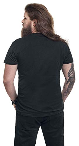 Amon shirt T Courtes Amarth Thor Noir Manches Logo PBqWPrapf