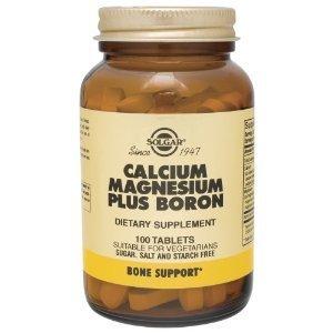 Calcium Magnesium Plus Boron 100 Tabs 3-Pack