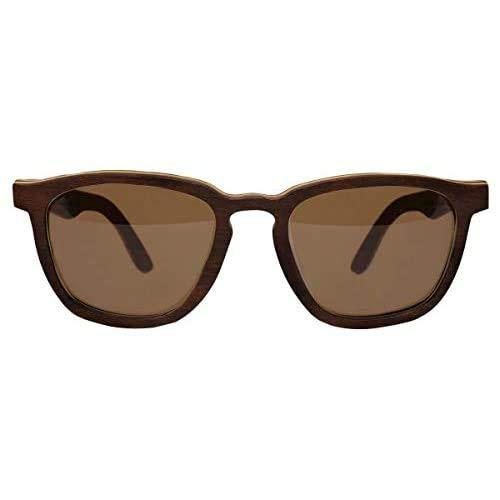 Óculos de sol de madeira Leaf Eco Charles Jacarandá