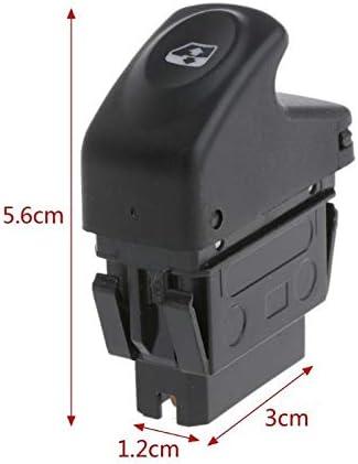 Interrupteur de fen/être 6 broches 12V voiture commutateur de commande /électrique for fen/être Renault Clio II 2 Megane I Kangoo remplacement
