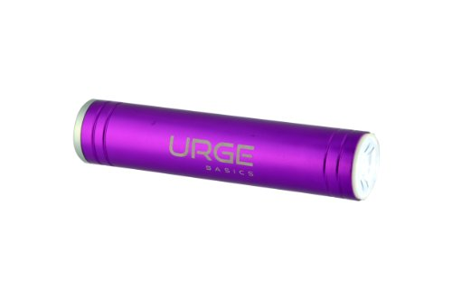 UrgeBasics 2600mAh Flash Tube Pro Portable Battery Charger for Smartphones - Retail Packaging - (Pro Flashtube)