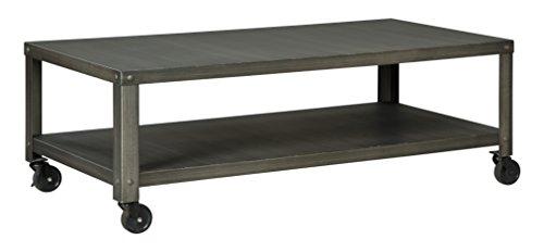 Ashley Furniture Signature Design - Hattney Coffee Table - C