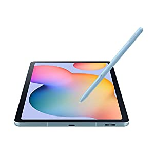 "Samsung Galaxy Tab S6 Lite 10.4"", 64GB WiFi Tablet Angora Blue - SM-P610NZBAXAR - S Pen Included"