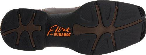 Women's Durango Square Toe Western Boots BROWN 9.5 M by Durango (Image #3)