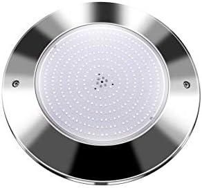Swimhome Foco de Superficie para Piscina en Acero Inoxidable 316L Luz Blanco Frío 18W Completamente Relleno de Resina Garantiza su Estanqueidad