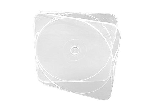 Microboards CB-11 DURASLIM CD/DVD/Blu-ray Cases - 500 Pack by Microboards