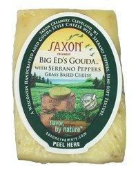 Saxon Creamery Big Eds Serrano Gouda Cheese 8oz Wedge
