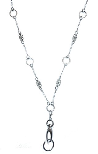 Hidden Hollow Beads Strong Stainless Steel Lanyard (Delicate Shapes Non Breakaway Lanyard)