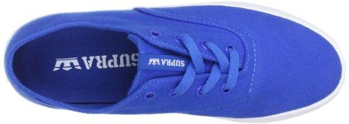hombre Zapatillas WRAP Azul de lona Supra Roy Blau x7qwSIx