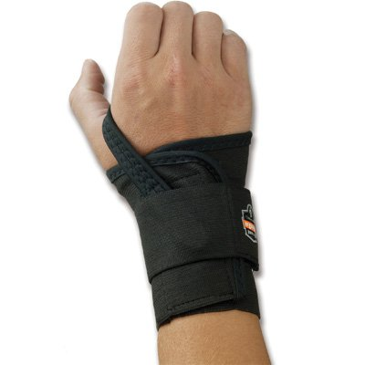 Ergodyne ProFlex 4000 Single Strap Wrist Support, Black - Me