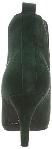 Sofie Schnoor Suede Boot w. elastic - botas de caño bajo de cuero mujer verde - verde (verde)