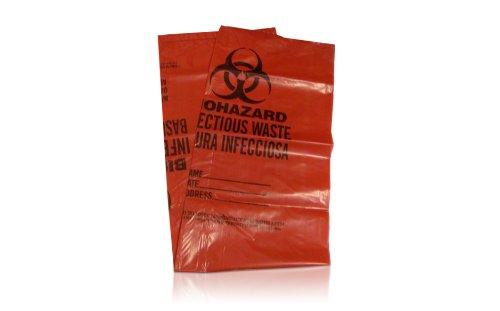Safetec Red Biohazard Bags (500/case)