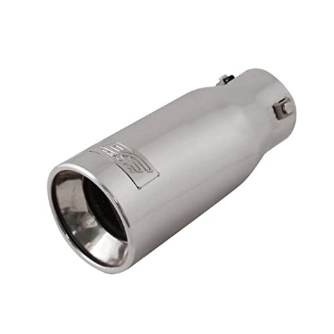 DC Sport EX-1011 Stainless Steel Bolt-on Exhaust Tip - Bolt On Exhaust