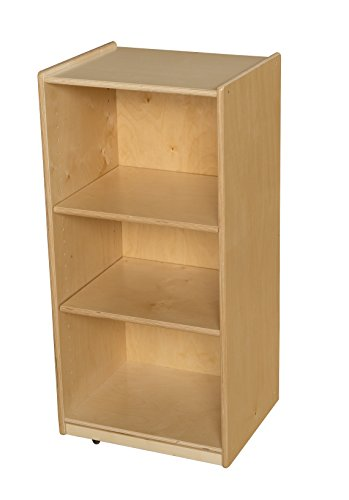 Wood Designs 15700AJ 3 Shelf Unit with Adjustable Sheves by Wood Designs (Image #1)