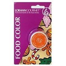 Lorann Oils Gel Food Coloring, 1/2-Ounce, Orange by Lorann Oils