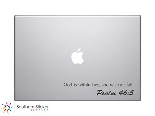 God Is Within Her, She Will Not Fail. Psalm 45:5 Bible Verse