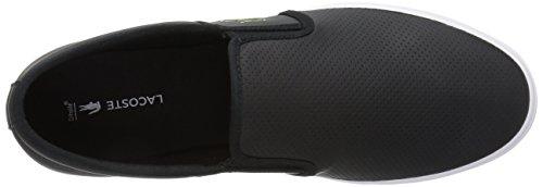 Lacoste Men's Gazon BL 1, Black, 10.5 M US