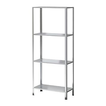 Metallregal ikea  IKEA HYLLIS Regal verzinkt; für drinnen und draußen; (60x27x140cm ...
