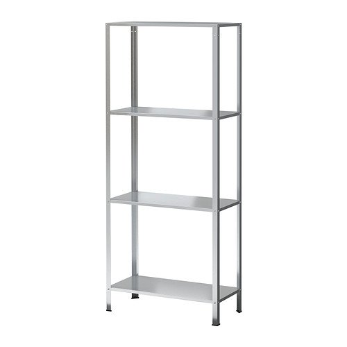 Ikea Hyllis Regal Verzinkt Fur Drinnen Und Draussen 60x27x140cm