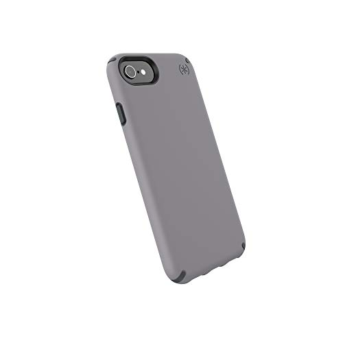 Speck Products Presidio Pro Cell Phone Case for iPhone 8 - Filigree Grey/Slate Grey ()